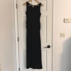 Maternity cotton maxi dress. Size Small